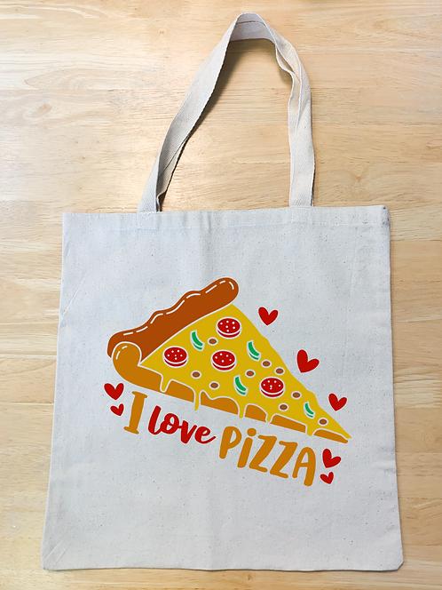 """I love pizza"" Design"