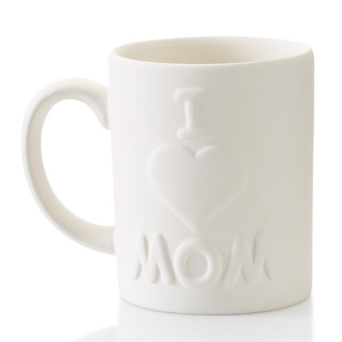 I love you mom mug - 4H x 3.25D