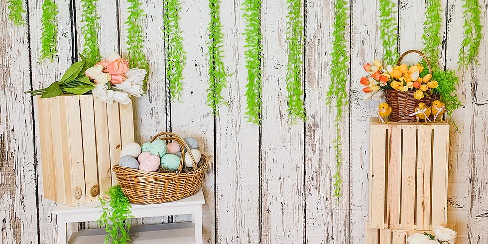 Easter Bunny Photos & Take Home Craft