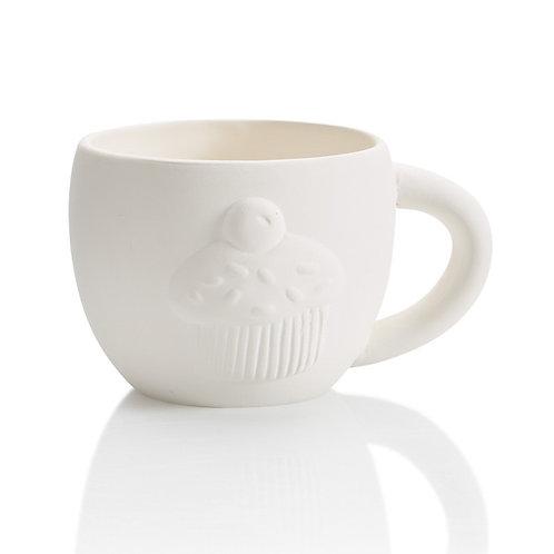 Cupcake party mug - 4D x 3H
