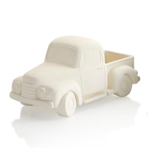 Vintage pick-up truck - 10.5L x 5.25H x 5.75W