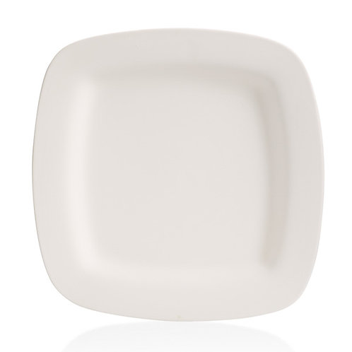Square rim platter - 15.75SQ. x 1.5H