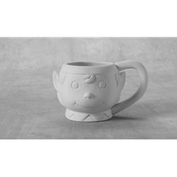 Elf mug - 6.50 x 4.75 x 3.75