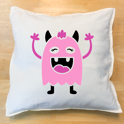 Monster 3 Pillow