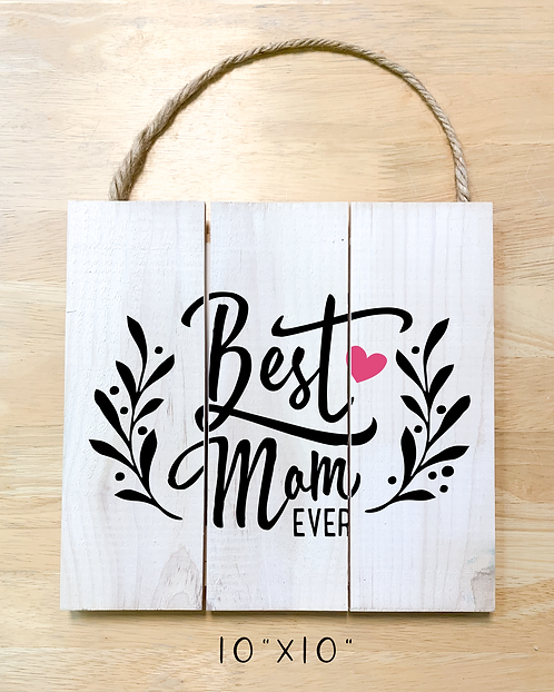 """Best mom ever"" (Board/Card)"
