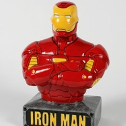 Ironman bank - 8 in. H x 3.25 in. W
