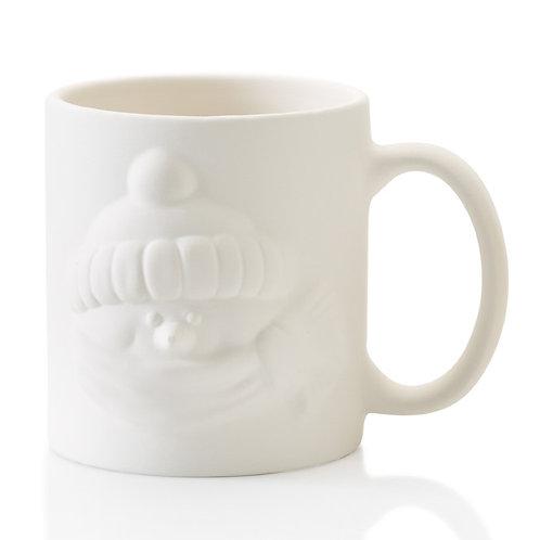 Snowman animug-  3.5D x 4H