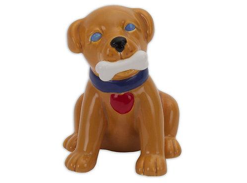"""Puppy love - 4 ¾"""" L x 3 ¾"""" W x 5"""" H"""
