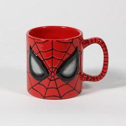 Spiderman mug - 3 1/4 in. H x 3 1/2 W