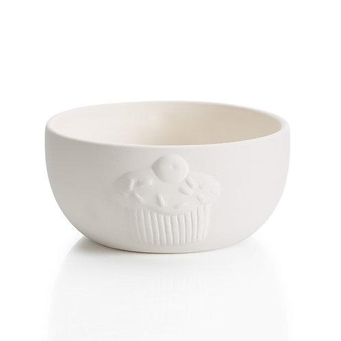 Cupcake bowl - 5.5D x 2.75H - PD