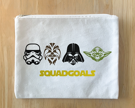 Starwars Squad Goals - Pouch/Tote/T-shirt