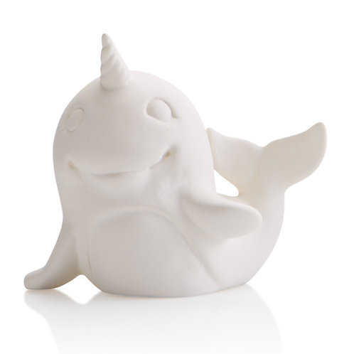 Narwhal party animal - 3.75H x 4L