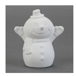 Tiny tot snowy the snowman - 3 in. x 2 in. x 3.5 in.