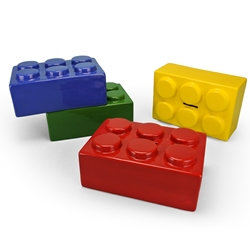 Brick bank - 7in L x 3in H x 4.75in W