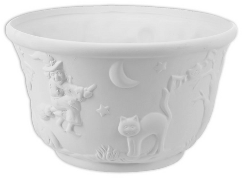 "Halloween bowl - 10 ¼"" Dia. x 6 1/8"" H (4 Liters)"