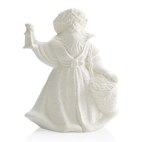 Renaissance Santa with lantern - 9H x 7w