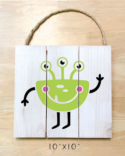 Monster 2 Design (Pillow/Tote/Pouch/Board)