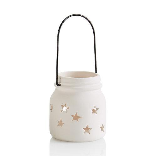 Jar star lantern small - 3.25H x 2.75