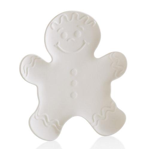 Gingerbread plate - 10.75L x 9.25W