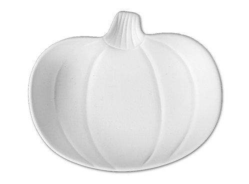 """Petite pumpkin dish - 5 ¼"""" L x 4 ¼"""" W x 1"""" H"""
