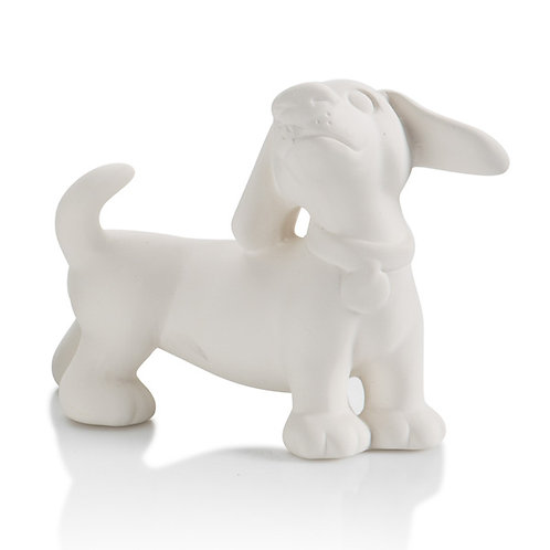 Daschund party animal - 4.5L x 4.25H - PD