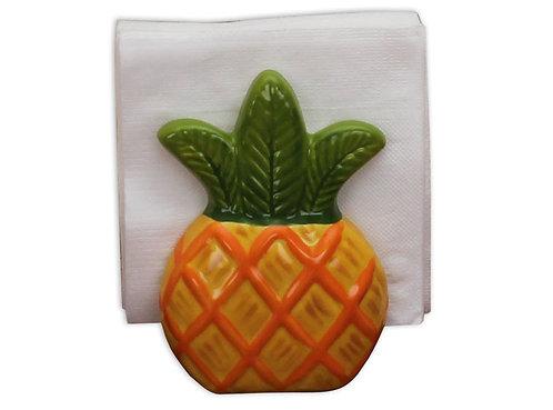 "Pineapple Napkin holder - 3 ½"" L 3 ½"" W x 5 1/8"" H"