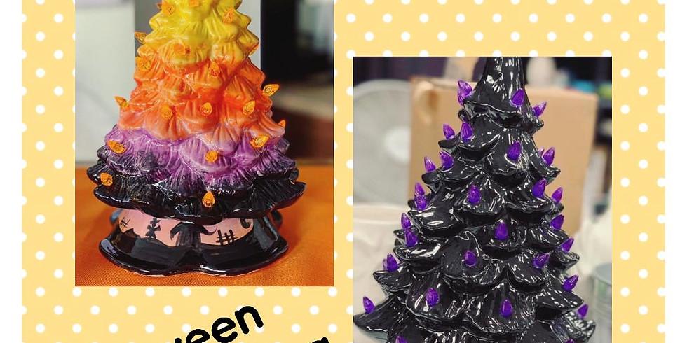 Halloween Tree painting event