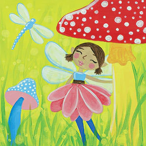 Garden Fairy Canvas