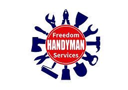 handy_man_freedom, logo, high quality.jp
