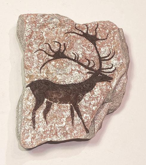 Lascaux Giant Deer Stone Magnet