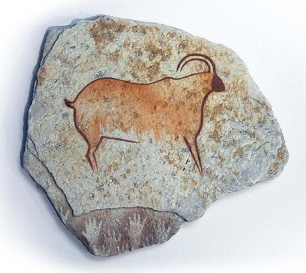 Cougnac Ibex on quartzite