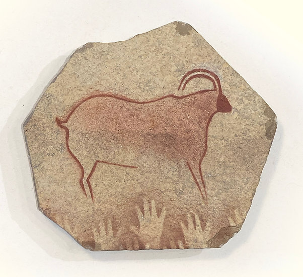 Cougnac Ibex stone magnet