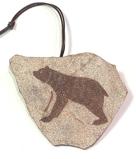 Bear Stone Ornament