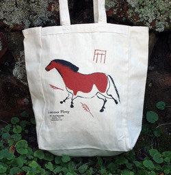 Lascaux Horse Tote Bag