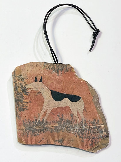 First Dog Stone Ornament