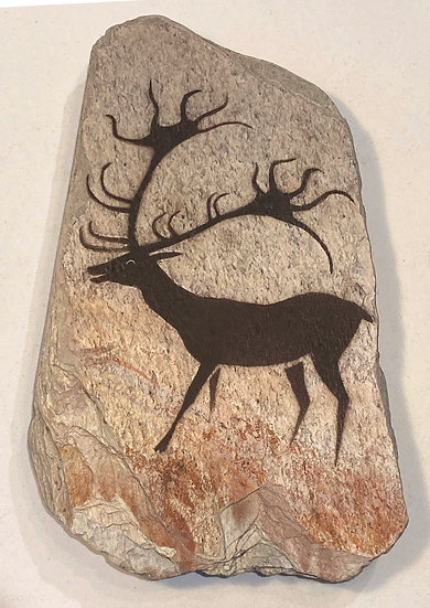 Lascaux Deer stone magnet