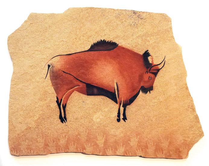 Altamira Standing Bison on sandstone
