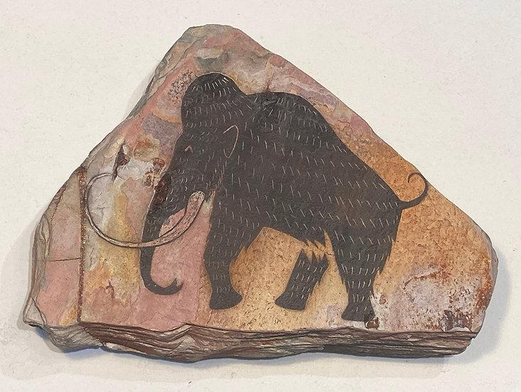 Mammoth stone magnet