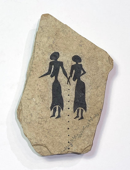 Sisters Stone Magnet