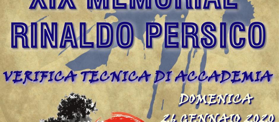 XIX Memorial Rinaldo Persico