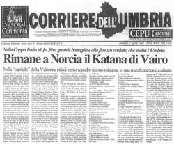 1997 Corriere dell'Umbria