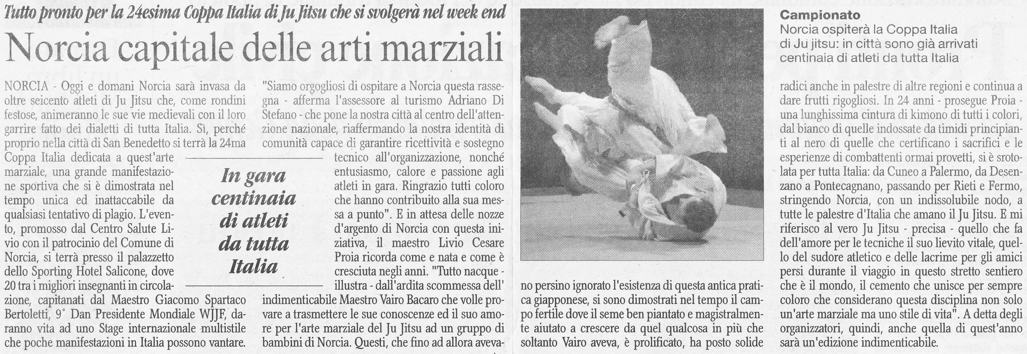 2011 Corriere dell'Umbria