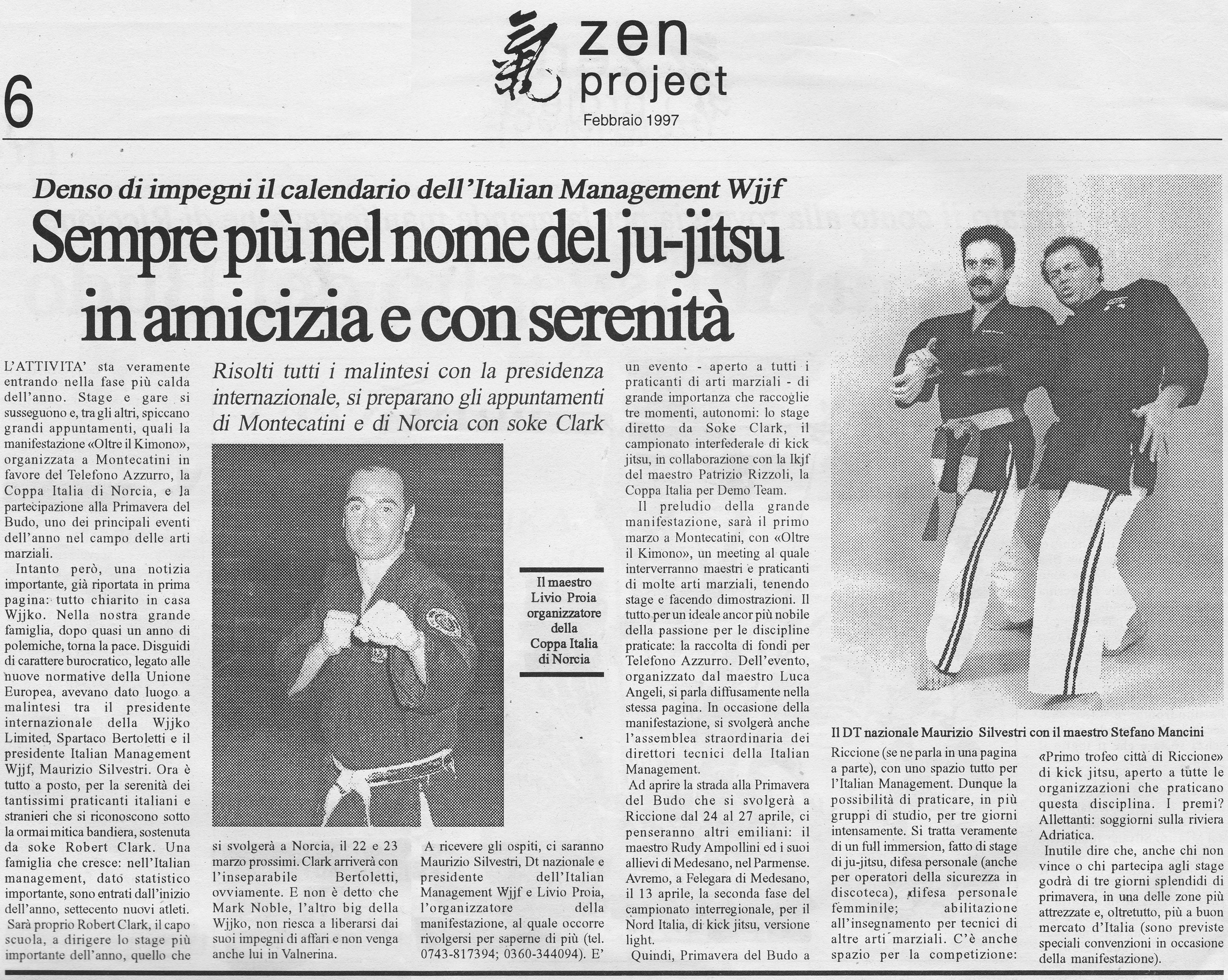 1997 febbraio Zen project