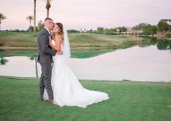 Chelle + Trevor Wedding