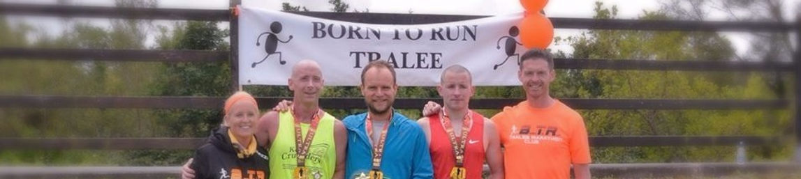 Born to Run Tralee Marathon Club 40 Mile Ultra Results