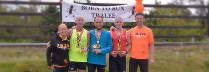 40 mile ultra marathon in Tralee Co Kerry Treland as well as a realy over shorter distances