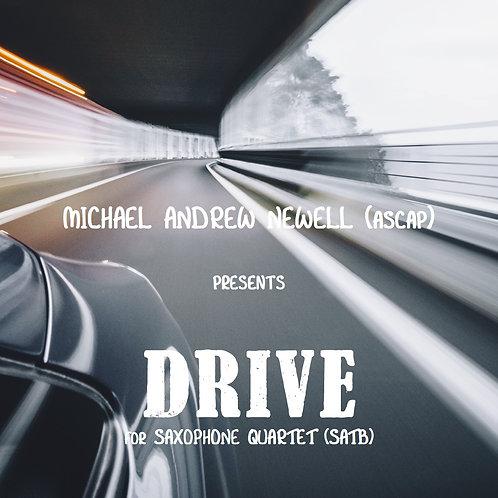 Drive (Saxophone Quartet)