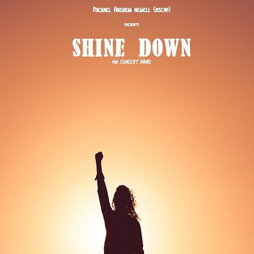 Shine Down (Concert Band)