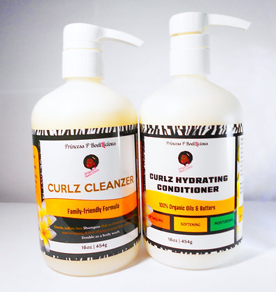 Curlz CleanZer & Conditioner Kit
