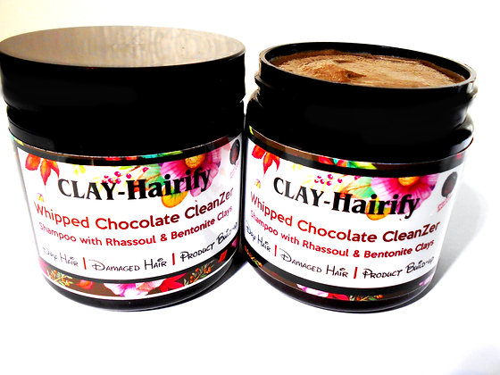 CLAY-Hairify Whipped Chocolate Shampoo